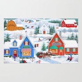 Wintertime in Sugarcreek Rug