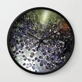 Oil & Water Wall Clock