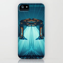 A Digital Frontier iPhone Case