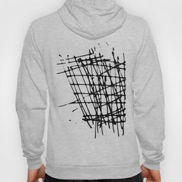 Sketch Black and White Hoody