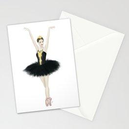 Black Swan Ballerina Stationery Cards