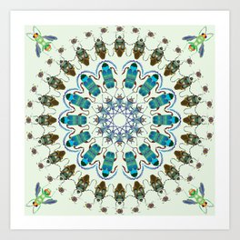 Entomology art Art Print