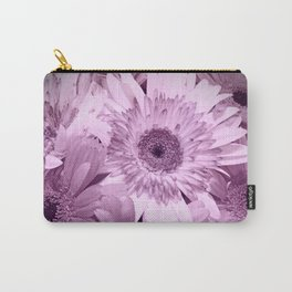 Lavender Floral Up Close Shot Carry-All Pouch