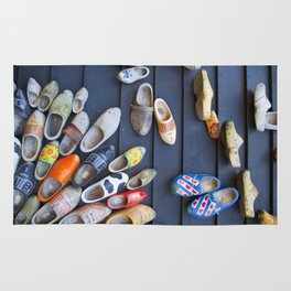 Wodden shoes Rug