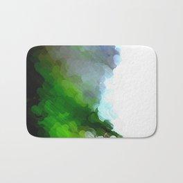Green Dot Paint Bath Mat