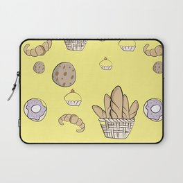 Chef Baked Goods Pastry Pattern Birthday Gift Laptop Sleeve