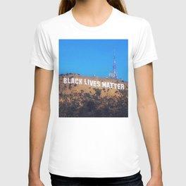 Black Lives Matter - Hollywood Sign T-shirt