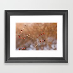 The Lord and the Spirit are one Framed Art Print