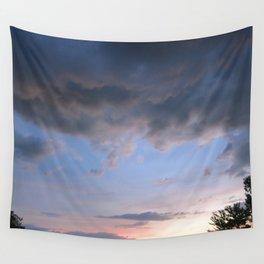 Lavender Skies Wall Tapestry