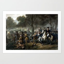 Life Of George Washington -- The Soldier Art Print