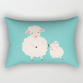 Sheep Series [SS 02] Rectangular Pillow