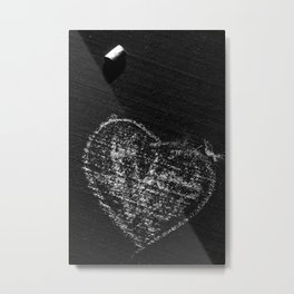 If I Only Had A Heart Metal Print