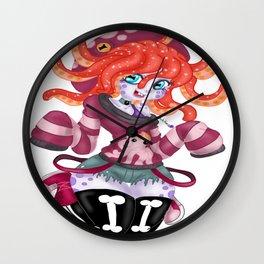 Pixy Stick Wall Clock