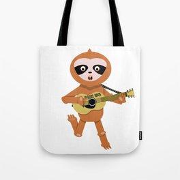 Sloths rock Tote Bag