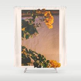 Flores Amarillas Shower Curtain
