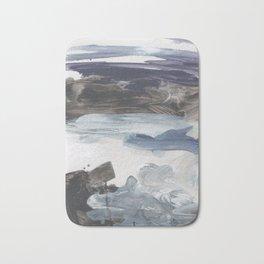 Number 79 abstract Landscape Bath Mat