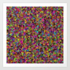 Scattered Art Print