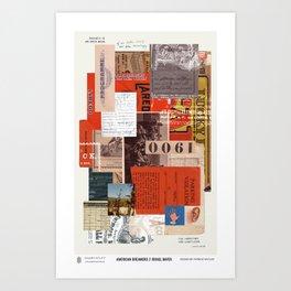 American Dreamers // Israel Bayer Art Print