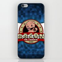 bacon iPhone & iPod Skins featuring Bacon by maiconmcn