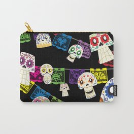 Skulls y Papel Picado Carry-All Pouch