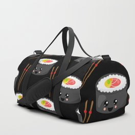 Eat Me in black Duffle Bag