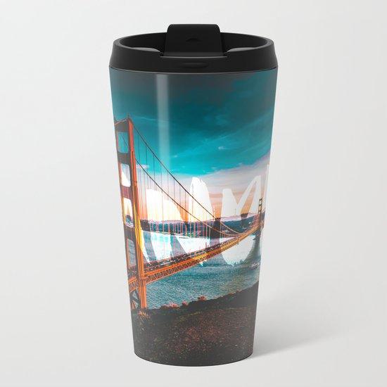 Wander Golden Gate Bridge Metal Travel Mug