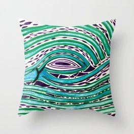 One Birds Eye View Throw Pillow
