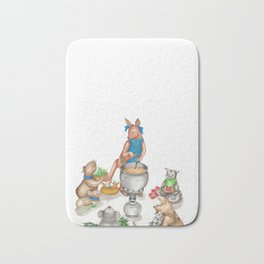 Too Many Cooks Make a Powerful Broth Bath Mat