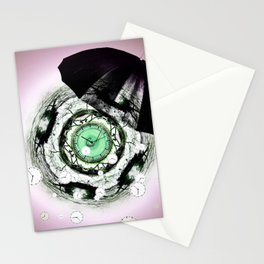RAINY DAY PEOPLE Stationery Cards