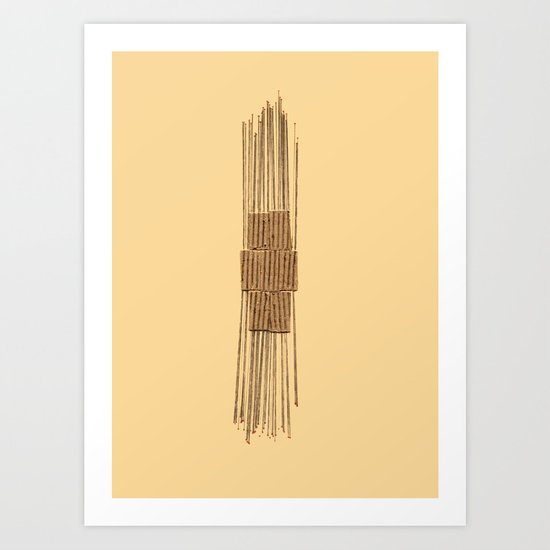 Straights Art Print