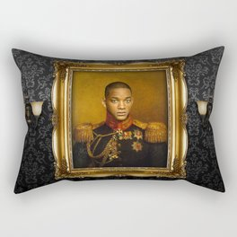 Will Smith - replaceface Rectangular Pillow
