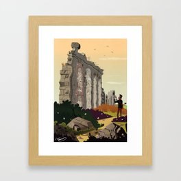 parco degli acquedotti Framed Art Print