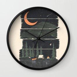 Wish I Was Camping... Wall Clock