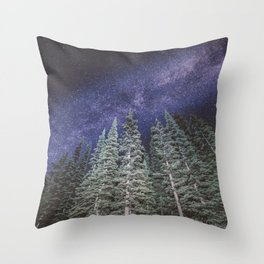 Lightyears - Milkyway Forest Throw Pillow
