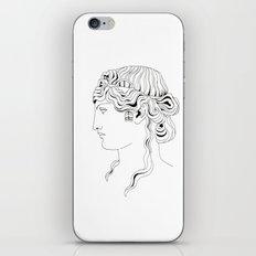 roman head iPhone & iPod Skin