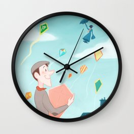 Don't Stay Away For Too Long Wall Clock