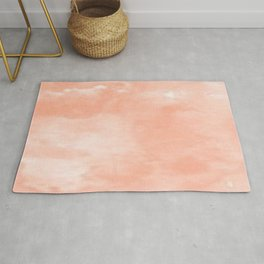 Peach Dreams Rug