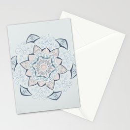 Jin Blue Mandala Stationery Cards