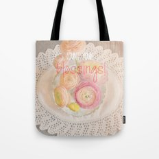 Count Your Blessings Tote Bag