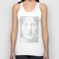 imagine Tank Tops featuring Imagine by Robotic Ewe