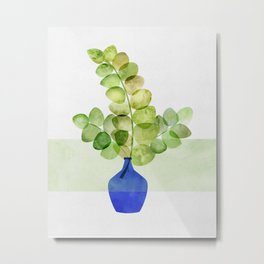 Fresh Eucalyptus Metal Print