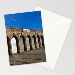 Old tram depot of Berlin Stationery Cards