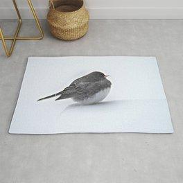 Brave Bird in a Blizzard Rug