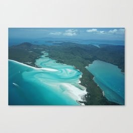Whitsunday from high above Canvas Print
