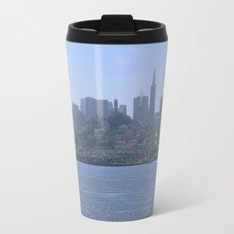 Downtown San Francisco from Alcatraz Travel Mug