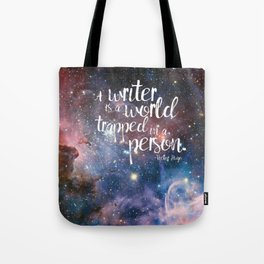 Victor Hugo Writer Quote Tote Bag