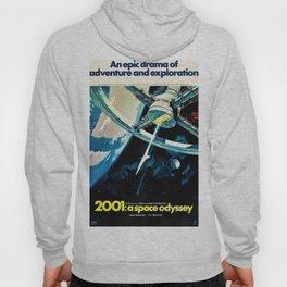 2001 A Space Odyssey 1968 American Lobby Broadside Vintage Film Poster Hoody