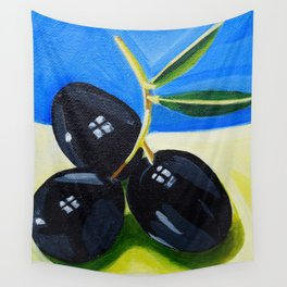 Olive bunch Wall Tapestry