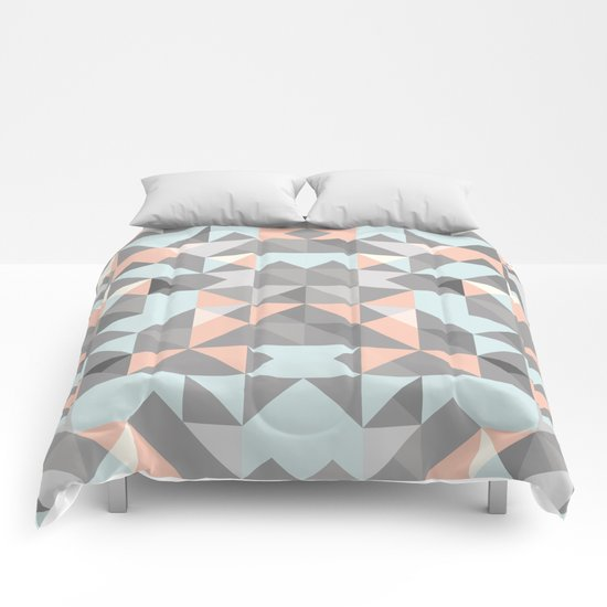 Triangular Pattern Comforters