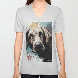 Doggyportrait Unisex V-Neck